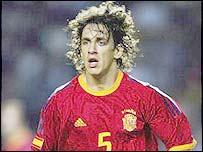 Spain's Carles Puyol