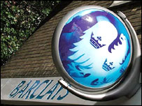 Barclays bank sign (generic)