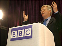 Michael Grade at BBC press conference