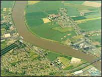 River Trent at Althorpe