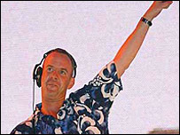 Fatboy Slim at the 2002 event