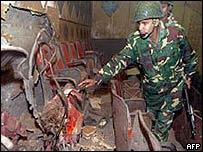 Mymensingh cinema bombing that killed 17 in 2002