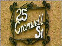 Fred and Rosemary West buried nine of their victims at 25 Cromwell Street, Gloucester