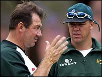 Geoff Marsh and Heath Streak