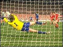 Dave Beasant's penalty save was part of the greatest day in Wimbledon's history