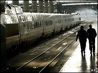 Spanish train station