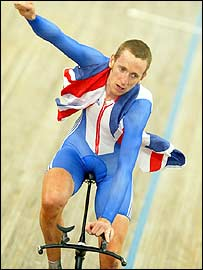 British cyclist Bradley Wiggins