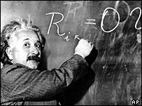 Albert Einstein (Image: AP)