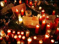 Vigils to the bomb victims are still being held in Madrid