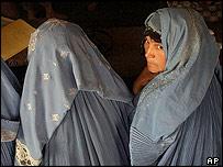 Women registering to vote