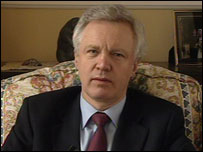 David Davis, MP, Shadow Home Secretary