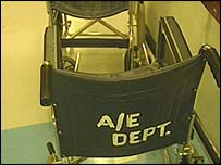 Accident and emergency chair