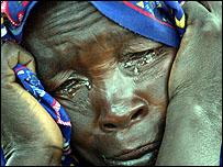 امرأة من دارفور