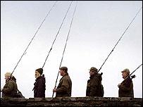 Salmon anglers