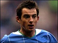 Wigan defender Leighton Baines