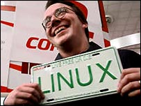 Linus Torvalds, the originator of Linux