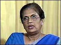 President Kumaratunga