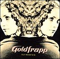 Goldfrapp, Felt Mountain CD cover