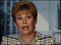 Panamanian President Mireya Moscoso