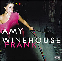 Amy Winehouse CD cover for Frank album