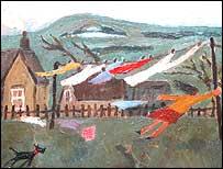 Gary Bunt painting
