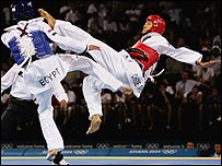 Chu Mu Yen beats Tamer Bayoumi in the men's semi-finals