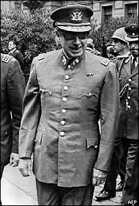General Augusto Pinochet in 1973