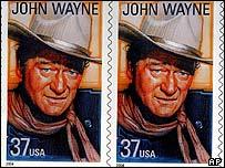 John Wayne stamps