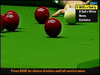 snooker tv coverage