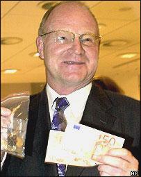 Bundesbank chief, Ernst Welteke