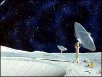 lunar telescope, nasa