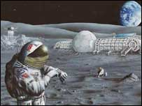 Moonbase, Nasa
