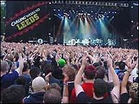 Leeds Festival-goers