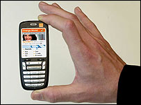 Orange C500 smartphone