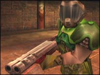 Screenshot from Quake III, Activision