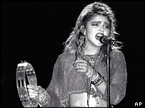 Madonna at Live Aid, Philadelphia