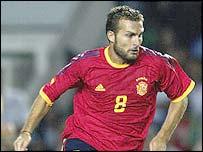 Spain's Ruben Baraja