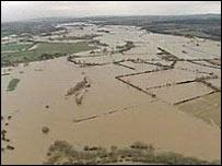 Flooded Trent