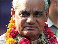 India's former Prime Minister Atal Behari Vajpayee