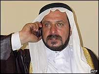 Iraqi tribal mediator Sheikh Hisham al-Dulaimi