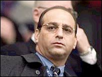 Millwall chairman Theo Paphitis