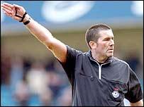 FA Cup final referee Jeff Winter