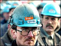 Striking workers