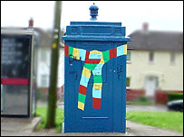 The police box in Chepstow Road, Newport