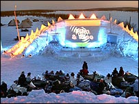 Snow cinema (Photo: Kenneth Haetta)