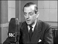Alistair Cooke broadcasting