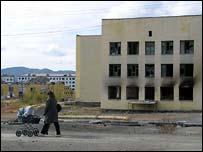 Сгоревшая школа