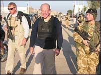 Sir Hilary Synott in Basra