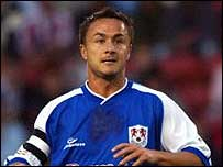 Millwall player-boss Dennis Wise