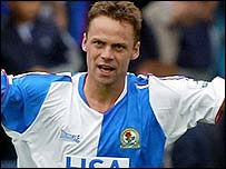 Blackburn striker Paul Dickov